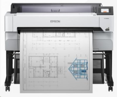 EPSON tiskárna ink SureColor SC-T5400M, 4ink, A0+, 2400x1200 dpi, USB 3.0, WIFI, Ethernet