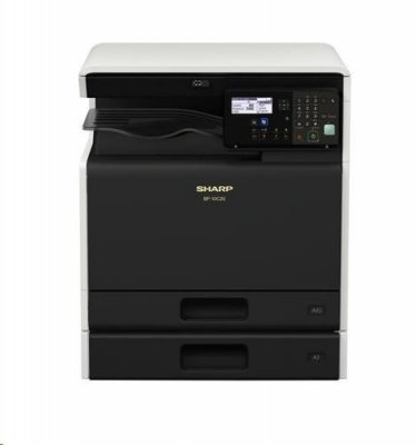 SHARP barevná MFP BP-10C20, 20 ppm