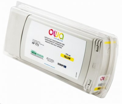 OWA Armor cartridge pro HP DesignJet Z 6600, 6800, 775ml, C1Q40A, Yellow